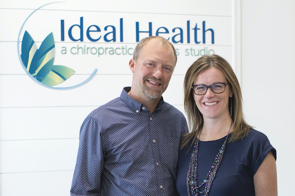 Dr. Jeremy & Dr. Sandy Rebrovich of Ideal Health in Elk River, MN